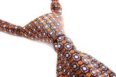 Orange tie Stock Image
