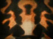 Orange tie dye pattern background Stock Photography