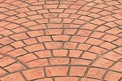 Orange tile floor. It is Orange tile floor Stock Photography