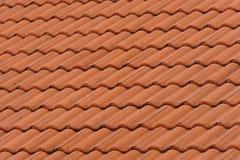 Orange Tile Pattern Royalty Free Stock Photography