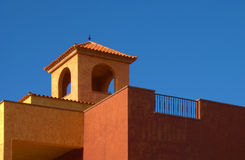 Orange tile roof Royalty Free Stock Photos