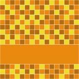 Orange Tiles Royalty Free Stock Image