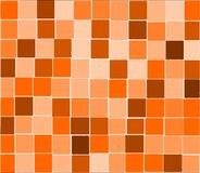 Orange tiles background Stock Images