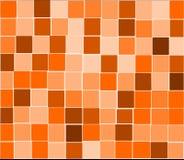 Orange tiles background Stock Images