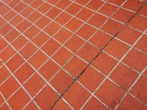 Orange tiles background Royalty Free Stock Photo