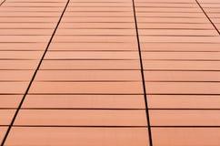 Orange tiles Stock Photography