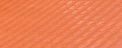 Orange tiles Stock Images