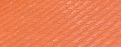 Orange tiles Stock Images