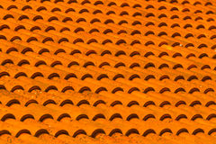 Orange tiles. Royalty Free Stock Photography