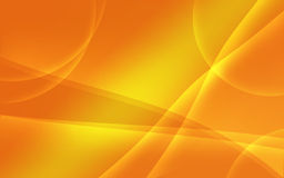 Orange tint abstract wavy background Royalty Free Stock Images