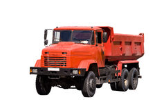 Orange tipper Royalty Free Stock Photo