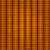 Orange token coin stacks seamless pattern Stock Images