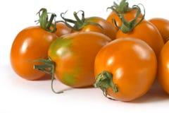 Orange Tomate Stockfotos
