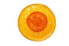 Orange-tomato fusion Stock Image