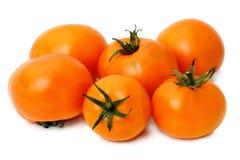 Orange tomatoes Royalty Free Stock Photos