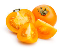 Orange tomatoes Royalty Free Stock Photo