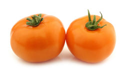 Orange tomatoes Royalty Free Stock Images