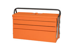 Orange tool box Royalty Free Stock Photo