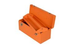 Orange tool box Royalty Free Stock Images