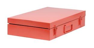 Orange toolbox Royalty Free Stock Photography