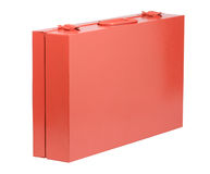 Orange toolbox Royalty Free Stock Images