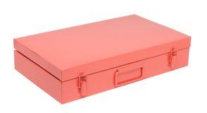 Orange toolbox Stock Photography