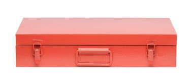 Orange toolbox Royalty Free Stock Photos