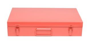 Orange toolbox Stock Photo