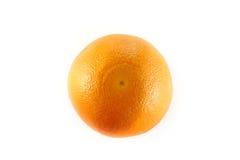 Orange from top Stock Photo
