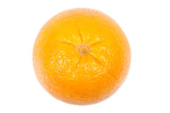 Orange top view Royalty Free Stock Photo