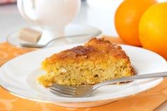 Orange Torte Lizenzfreie Stockfotografie