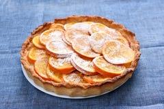 Orange Torte stockfoto