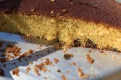 Orange Torte Lizenzfreies Stockfoto
