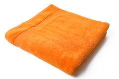 Orange towel Royalty Free Stock Photography
