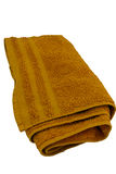Orange towel Stock Photography