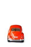 Orange toy car Royalty Free Stock Image