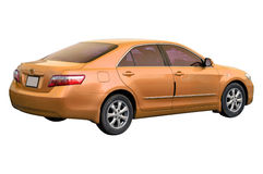 Orange Toyota Camry 2008 Royalty Free Stock Photography