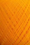 orange tråd Fotografering för Bildbyråer