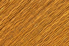 Orange Traditional thai style nature background of brown handicraft weave texture wicker surface for furniture material.  Royalty Free Stock Image