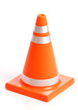 Orange Traffic Cone Royalty Free Stock Photo