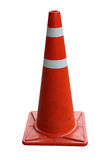 Orange Traffic cones isolated Royalty Free Stock Photo