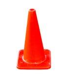 Orange traffice cone Royalty Free Stock Image