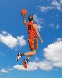 Orange trempez dans le ciel photo libre de droits