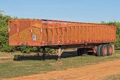Orange Truck Stock Photography