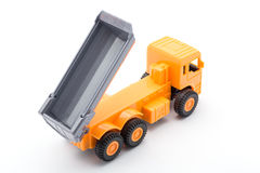Orange truck toy Royalty Free Stock Images