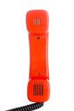 Orange tube from retro phone Stock Images