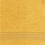 Orange Tuch-Beschaffenheit Stockfotos