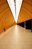 Orange tunnel Stock Photos