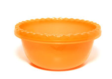 Orange tureen Stock Photography