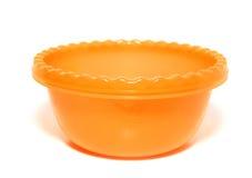 Orange tureen Stock Photography